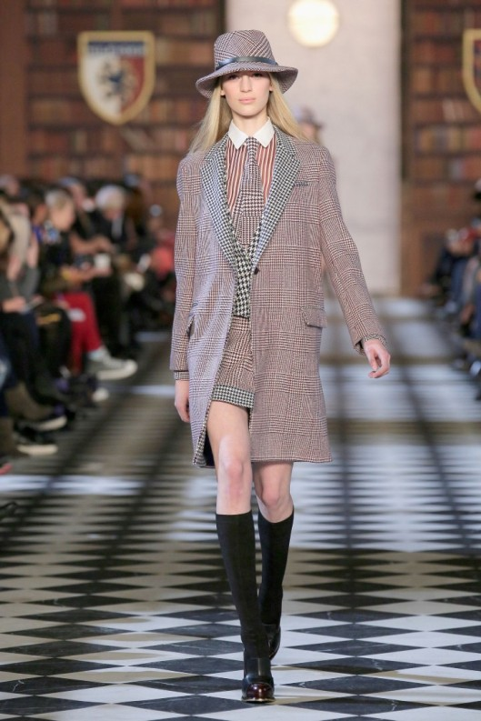 Tommy Hilfiger Presents Fall 2013 Women's Collection At The Park Avenue Armory - Runway
