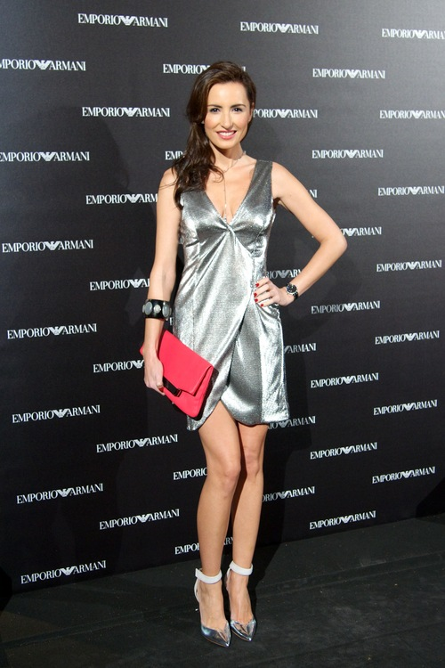 Emporio Armani Boutique Opening In Madrid