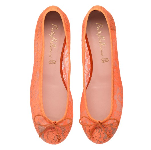 Rita rusty orange lace -PVP-139