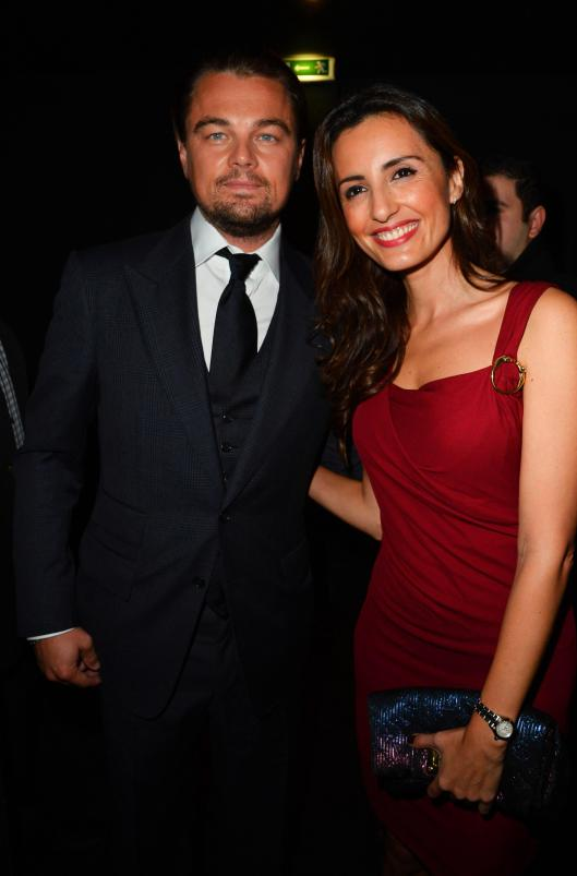 MONICA DE TOMAS AND LEONARDO DI CAPRIO